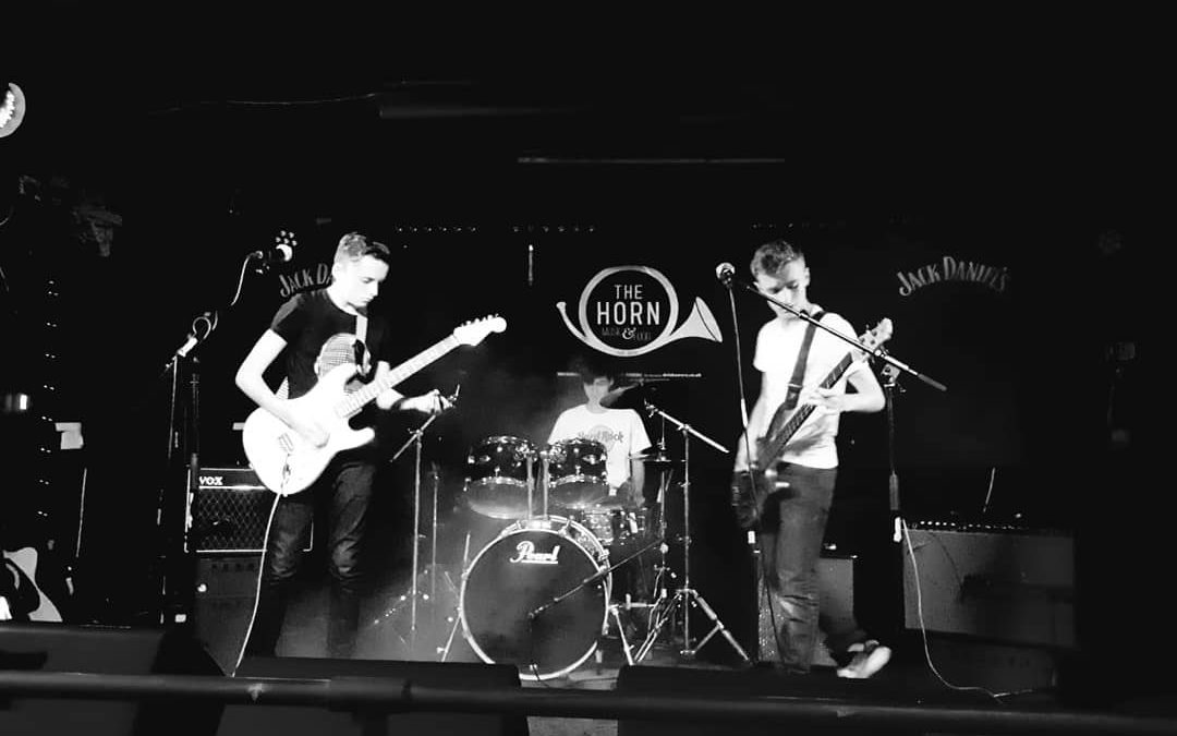 We're in the semi finals – Battle of the Bands at The Horn!